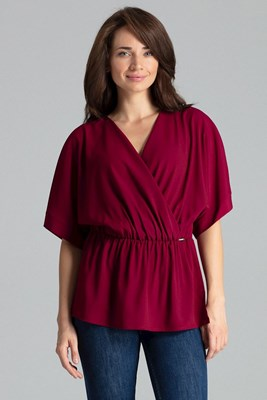 Bluzka L063 Bordo XL