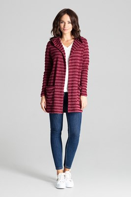 Sweater L070 Deep Red S/M