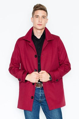 Coat V028 Deep red XXL