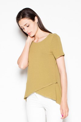 Blouse VT085 Olive green XL
